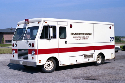 HOFFMAN ESTATES  RESCUE 22   1975  FORD - MARION