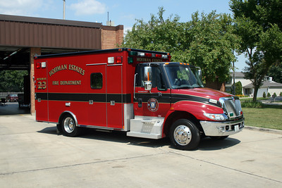 HOFFMAN ESTATES  AMBULANCE 23