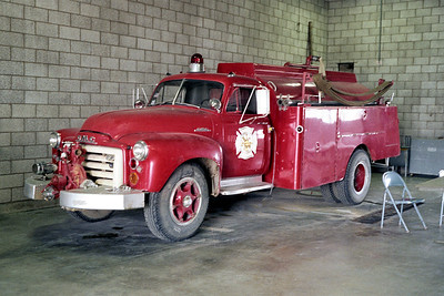HOFFMAN ESTATES TANKER  1954 GMC - PROGRESS   150-1500