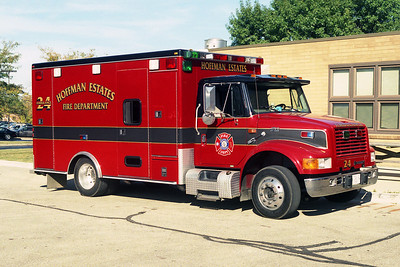 HOFFMAN ESTATES FD  AMBULANCE 24