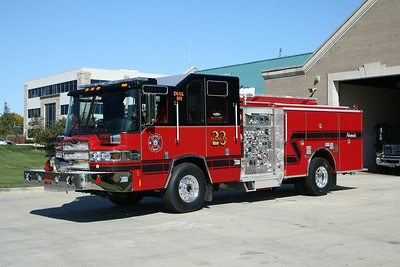 HOFFMAN ESTATES FD,IL ENG.23 2008 PIERCE QUANTUM 1500/500/30A  #20833