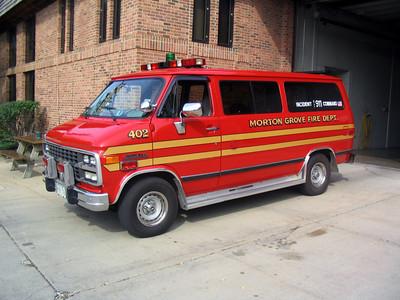 MORTON GROVE CAR 402 1995 CHEVY