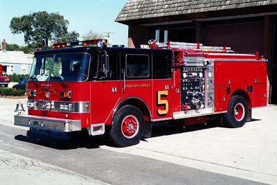 MORTON GROVE ENGINE 5  1995 PIERCE ARROW  1250-500
