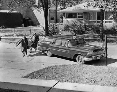 MORTON GROVE FD  INHALATOR DRILL 10-9-1958