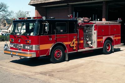 MORTON GROVE  ENGINE 4  1988 PIERCE ARROW 1500-750