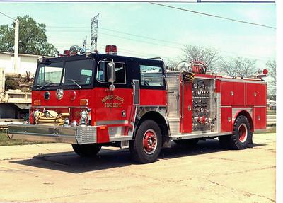 MORTON GROVE ENGINE 4  1978 HENDRICKSON - E-ONE 1500-500