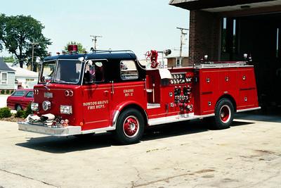 MORTON GROVE  ENGINE 2  1973 PIRSCH  1250-500