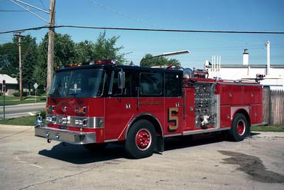 MORTON GROVE ENGINE 5  1990 PIERCE   ARROW  1500-500