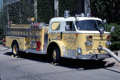 ENGINE 516  1959 ALFCO 900   1000-  PUMPING