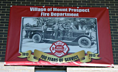 MT PROSPECT 1OO YEAR ANNIVERSARY POSTER