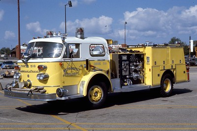 ENGINE 516  1959 ALFCO 900   1000-