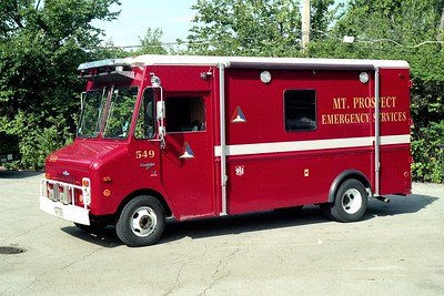 MT PROSPECT EMERGENCY SERVICES 549