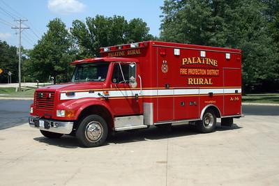 PALATINE RURAL  AMBULANCE 36R
