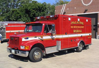 PALATINE RURAL FPD AMBULANCE 36