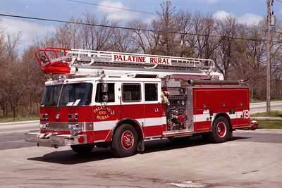 PALATINE RURAL FPD  ENGINE 19