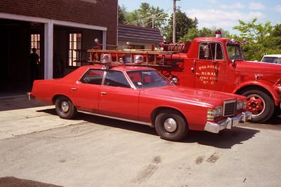 PALATINE RURAL FPD  CAR  FORD LTD