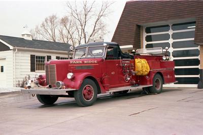PARK RIDGE ENGINE 43  PIRSCH PUMP PANEL