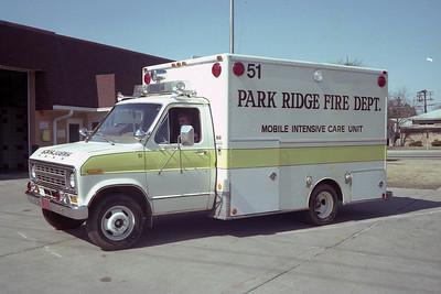 PARK RIDGE FD  AMBULANCE 51