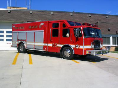 PARK RIDGE FIRE DEPARTMENT  SQUAD 35