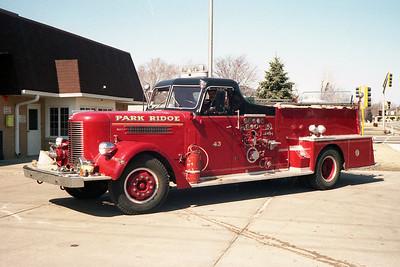 PARK RIDGE FD  ENGINE 43  PIRSCH