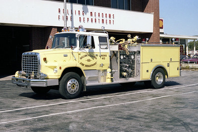 ROLLING MEADOWS FD  ENGINE 612  1979  FORD L9000 - PIERCE   1250-500   7343-D