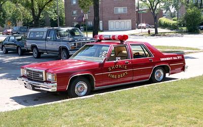 SKOKIE CAR 1603   1988 FORD