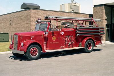 WHEELING FD  ENGINE 3  1956  WLF FIRE BALL   750-500   #3926