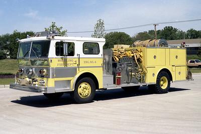 WHEELING FD  ENGINE 694  1972  WLF P80   1500-500   #80-625