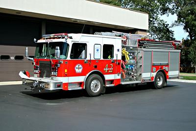 WHEELING FD  ENGINE 42 2002  SPARTAN - LUVERNE   1500-750-60A-30B   #11257