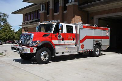 WHEELING FD  SQUAD 24  2008  IHC 7400 - GENERAL SAFETY   1250-1000-60F   #2802