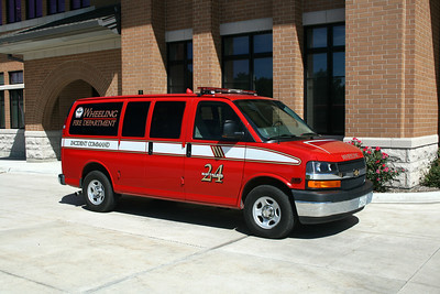 WHEELING FD  BATTALION 24  2008  CHEVY EXPRESS