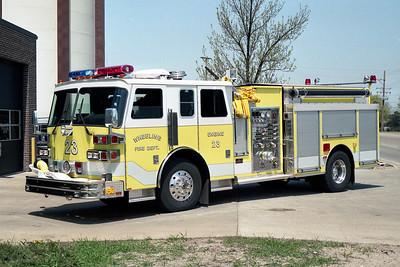 WHEELING FD  ENGINE 23  1992 SUTPHEN   1500-750   HS-2705