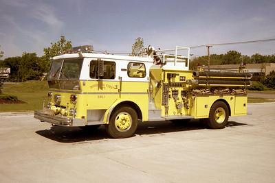 WHEELING FD  ENGINE 691  1969  WLF P80   1250-500   #80-243 COMMAND TOWER