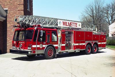 WILMETTE FD  TRK 26