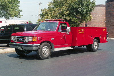 ALSIP FD  UTILITY 2017  1991  FORD F350 - READING