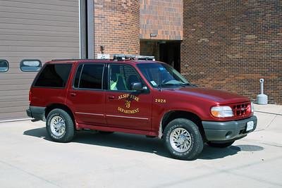 ALSIP FD  CAR 2028  2000  FORD EXPLORER