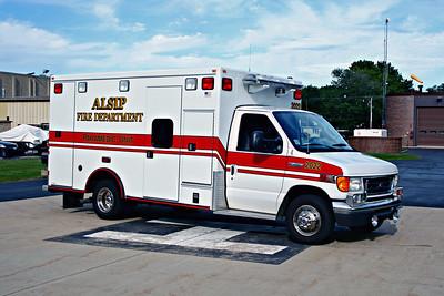 ALSIP FD  AMBULANCE 2022  2006  FORD E450 - ROAD RESCUE   #5050