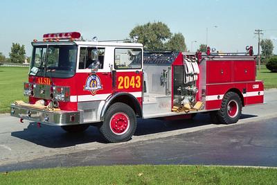 ALSIP FD  ENGINE 2043  1979  SPARTAN - FMC   1750-500