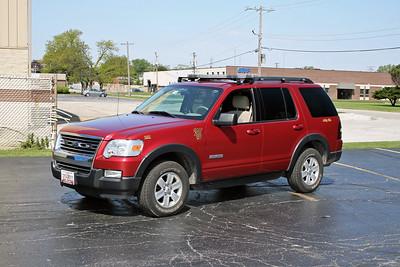 ALSIP FD  CAR 2011  2010  FORD EXPLORER