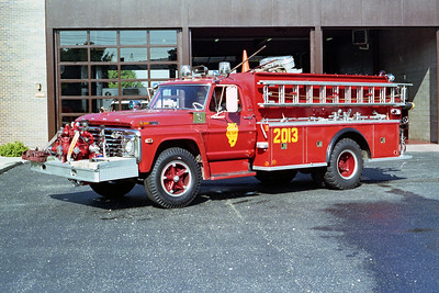 ALSIP FD  ENGINE 2013  1970  FORD F - DARLEY   750-1000