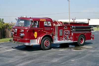 ALSIP FD  ENGINE 2033  1964  ALF 900   1000-750