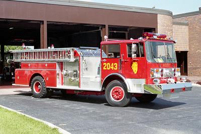 ALSIP FD  ENGINE 2043  1979  SPARTAN - FMC   1750-500   OFFICERS SIDE