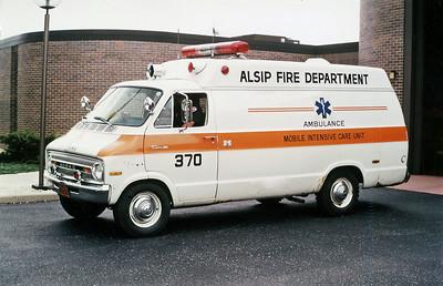ALSIP FD  AMBULANCE 370  DODGE -