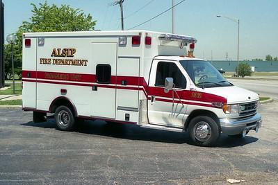 ALSIP FD  AMBULANCE 2012  FORD E-450 - 2003  ROAD RESCUE   #6937   RECHASSIS (2)