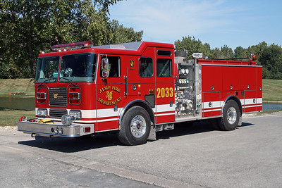 ALSIP FD  ENGINE 2033  2007  SEAGRAVE   1500-750   #78D98