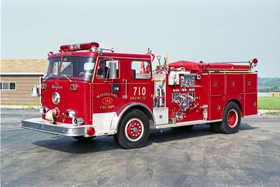 BEDFORD PARK FD  ENGINE 710  1973  SEAGRAVE   1250-500
