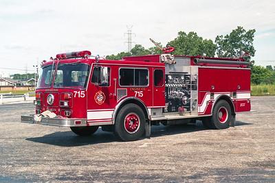 BEDFORD PARK FD  ENGINE 715 1981  SEAGRAVE WB   1500-500