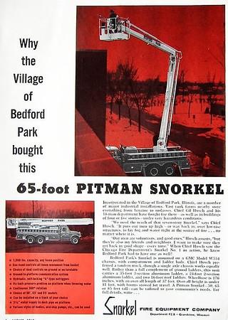 BEDFORD PARK SNORKEL AD
