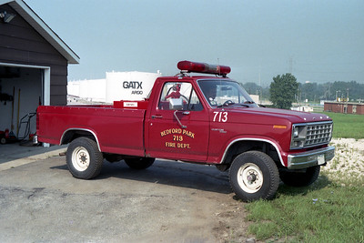 BEDFORD PARK FD  UTILITY 713  1980  FORD F-250 PICKUP