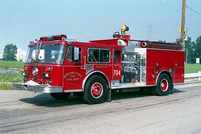 BEDFORD PARK ENGINE 704  1981  SEAGRAVE WB   1500-500   PIERCE REHAB